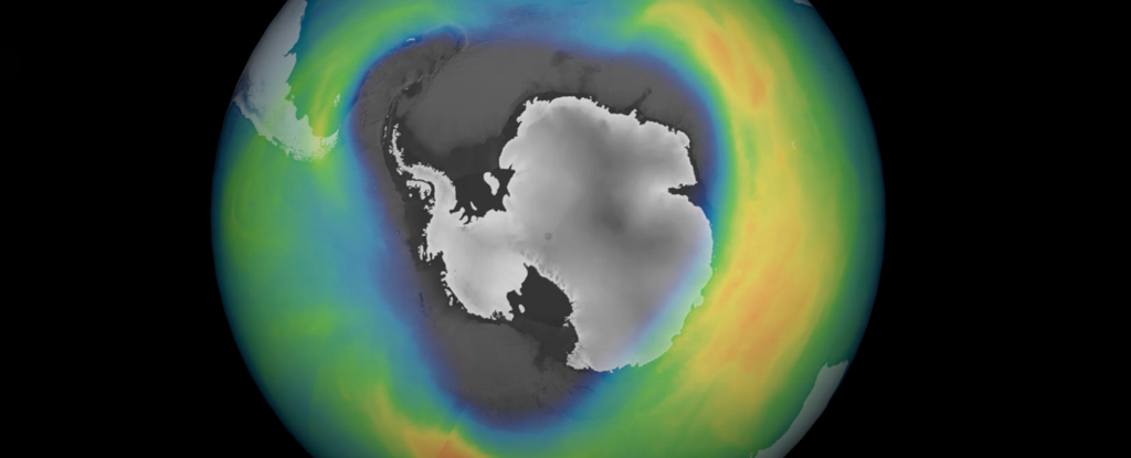 The Ozone Hole Over Antarctica Has Grown Much Deeper And Wider in 2020 - ScienceAlert
