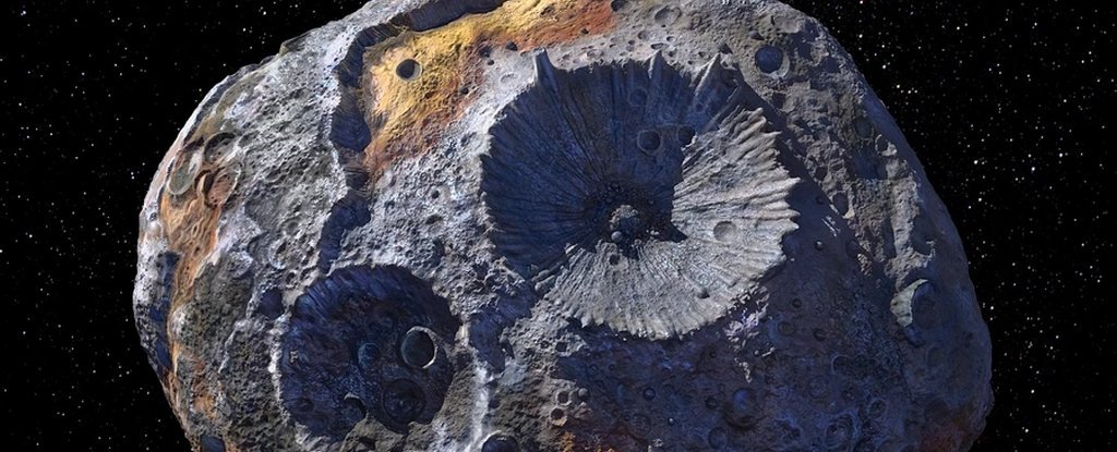 Giant Asteroid Survivor of Failed Planet Discovered to Be Slowly Rusting in Space – ScienceAlert