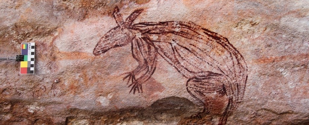 Breathtaking Discovery of Australian Cave Art Shows Nature And Humans in Harmony