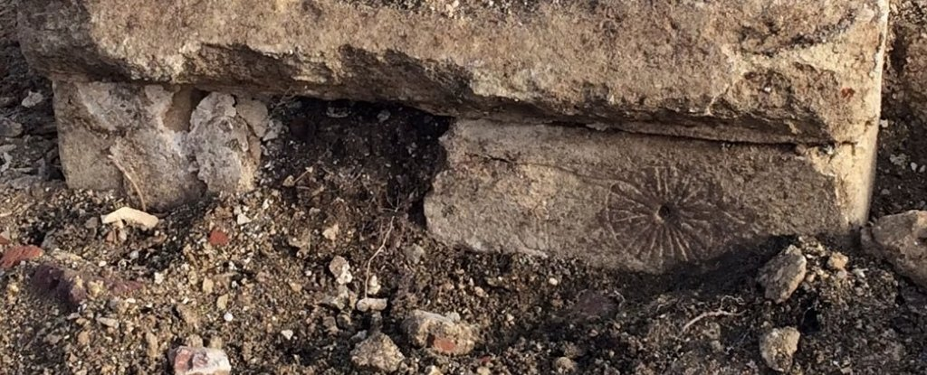 Medieval Church Ruins Found With 'Witch Marks' Removed For a High-Speed Rail
