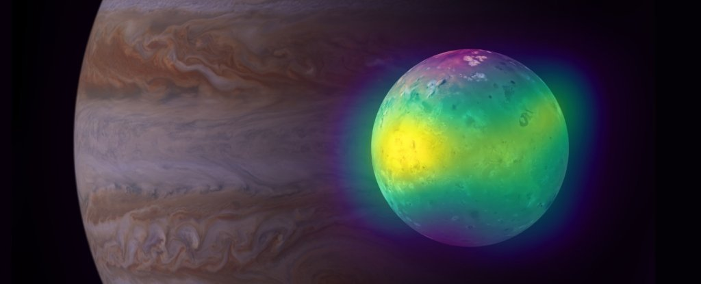 For The First Time Astronomers See Plumes of Sulfur Dioxide From The Volcanoes of Io – ScienceAlert