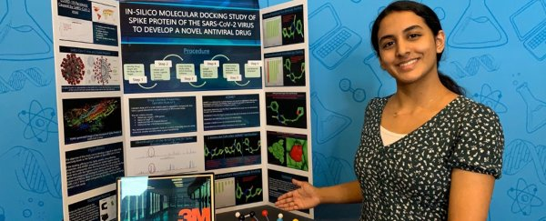 14-year-old from Texas wins top science prize for coronavirus molecule discovery