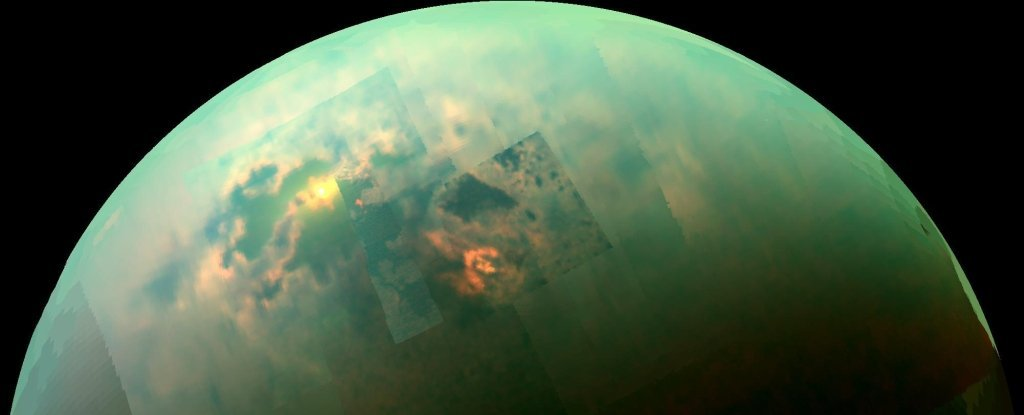 'Weird' Molecule Detected on Titan Has Never Been Found in Any Atmosphere