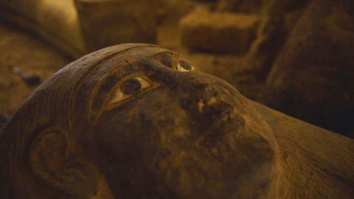 Egypt Has Unearthed 160 Ancient Coffins Since September. Some Were Sealed With a 'Curse'