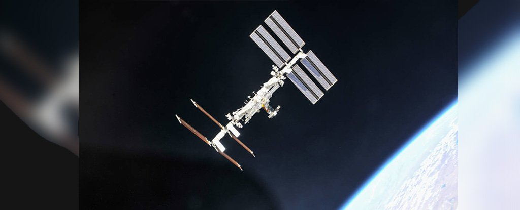 ISS in 2018.