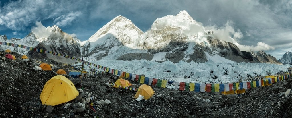 Even Mount Everest, the highest peak in the world, cannot escape microplastics