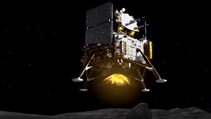 China's Lunar Mission Just Landed on The Moon And Is Ready to Bring Back Some Rocks