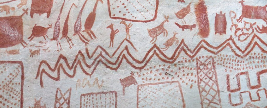 Thousands of Stunning, Ancient Cave Art Drawings Have Been Found Deep in The Amazon
