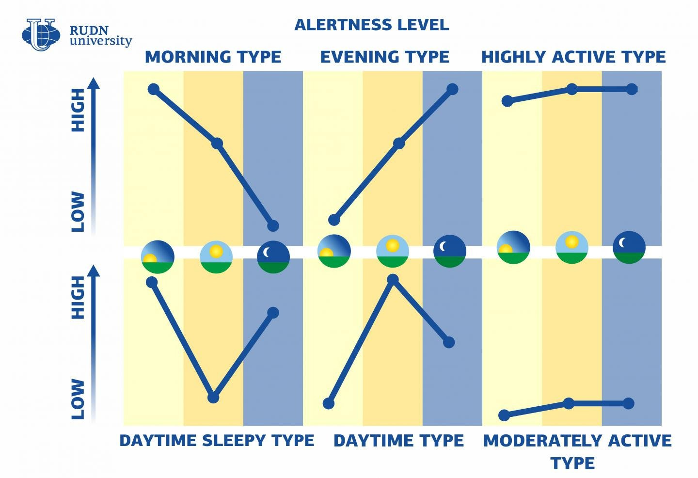There Are 6 Human Chronotypes, Not Just Morning Larks And Night Owls, Study Says