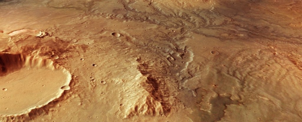Scientists Have Identified The Best Place For Life to Have Existed on Mars