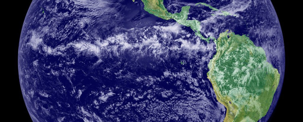 The tropical rain belt sits roughly in line with the equator.