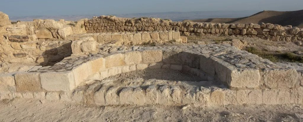 Archaeologists believe that this niche represents the remains of the throne of Herod Antipas.