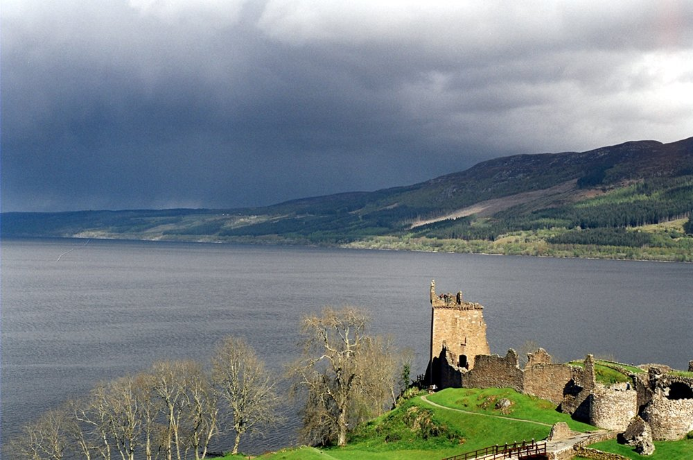 Peaceful Loch Ness, the alleged home of the 'monster'. (Sam Fentress/Wikimedia Commons/CC BY 2.0)