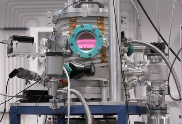 The PAMPRE device that recreated Titan's haze particles.