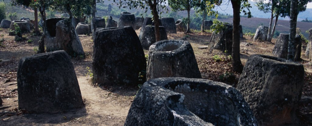 We Finally Know The True Age of These Huge, Mysterious Jars Scattered in Laos