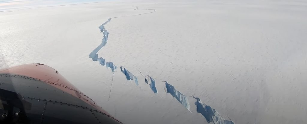 Mega Iceberg About The Measurement of Los Angeles Simply Broke Off From an Antarctic Ice Shelf