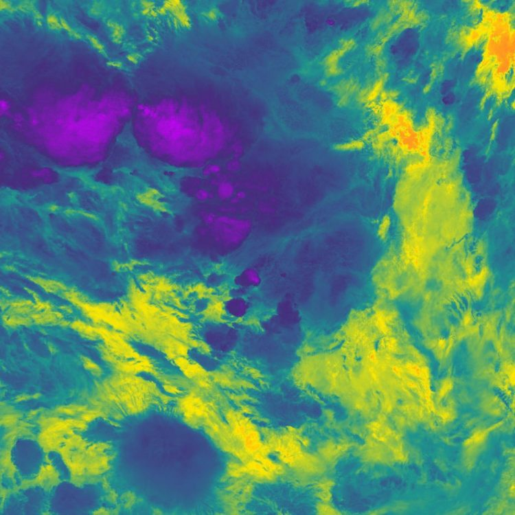 cold cloud with purple patch