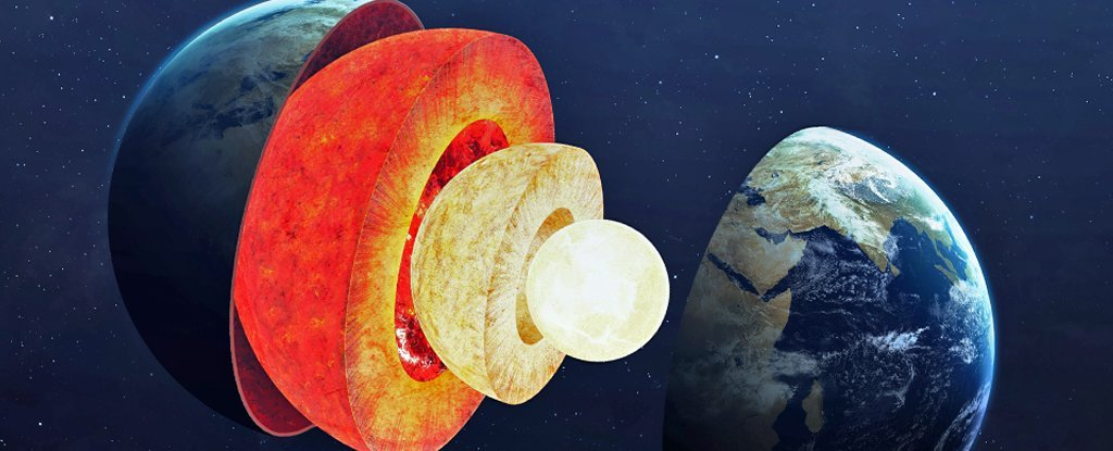 Scientists detect signs of a hidden structure inside Earth's core