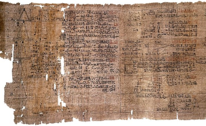 The Rhind papyrus
