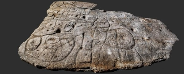 Forgotten stone slab may actually be the oldest known map in Europe