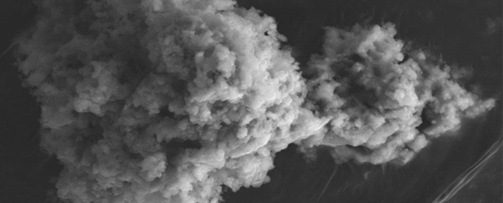 Micrometeorite retrieved from Antarctica.