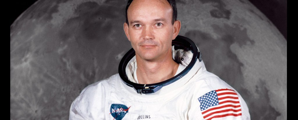 Michael Collins in 1969, three months before Apollo 11 launch.