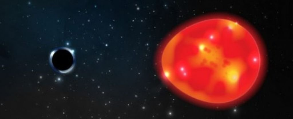 Astronomers Have Detected The Closest Black Hole to Earth. Thankfully, It's Tiny - ScienceAlert