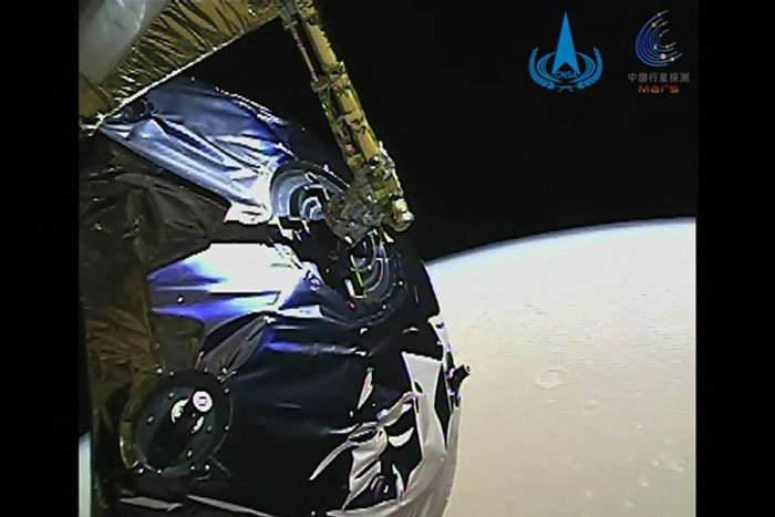 Breaking: China's Zhurong Rover Has Successfully Landed on Mars  Tianwen1CirclingMars