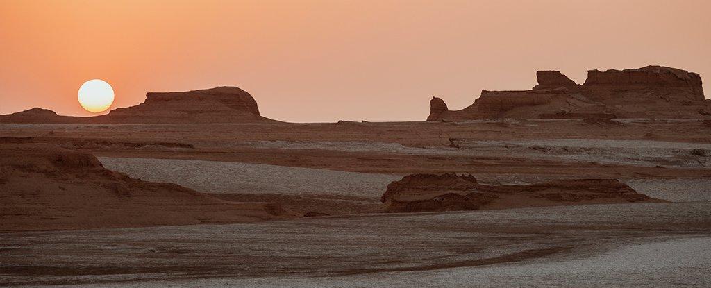 Lut Desert, Iran.