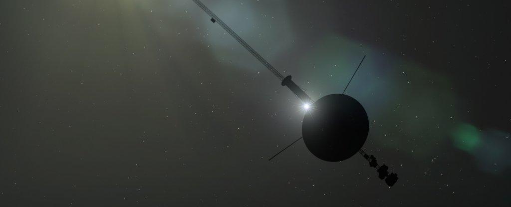 Voyager 1 Is Detecting a 'Hum' of Plasma Waves in The Void of Interstellar Space - ScienceAlert