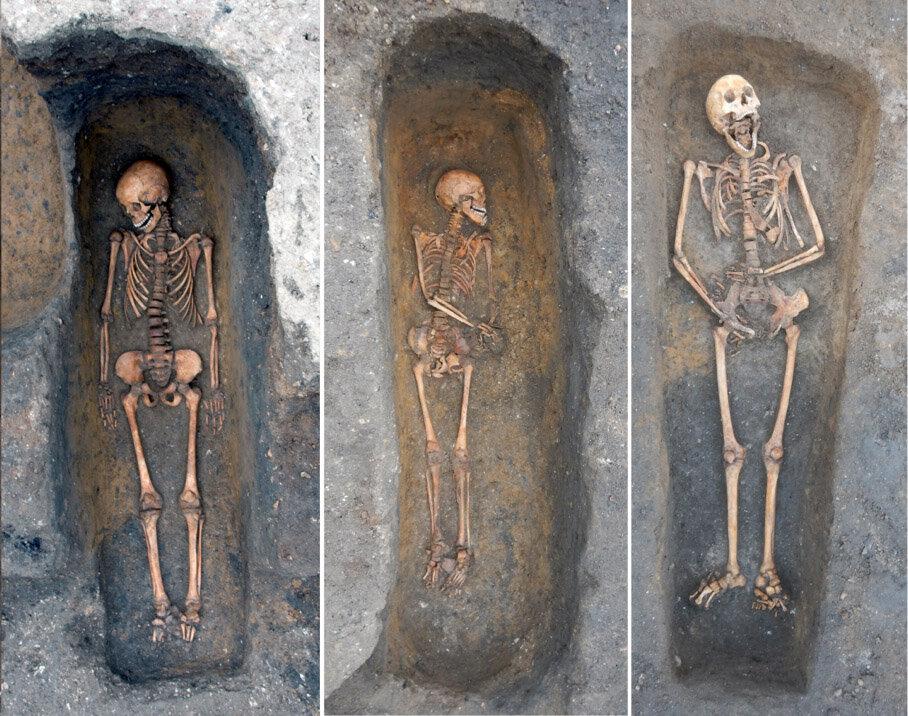 Plague burials