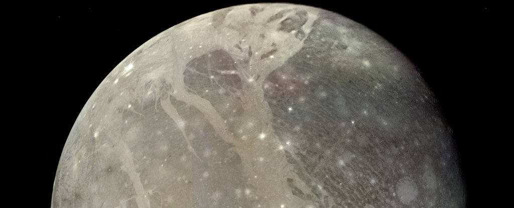 Astronomers Detect Water Vapor on Jupiter's Moon Ganymede For The First Time