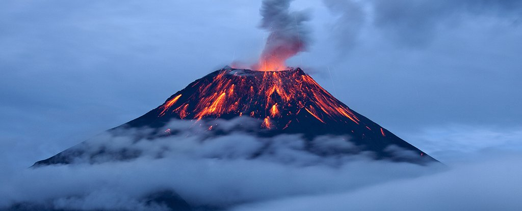 Volcanoes Could Be Responsible For The First Puffs of Oxygen on Earth