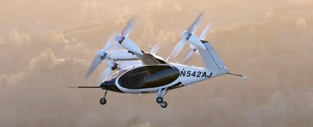 Joby's eVTOL air taxi prototype.