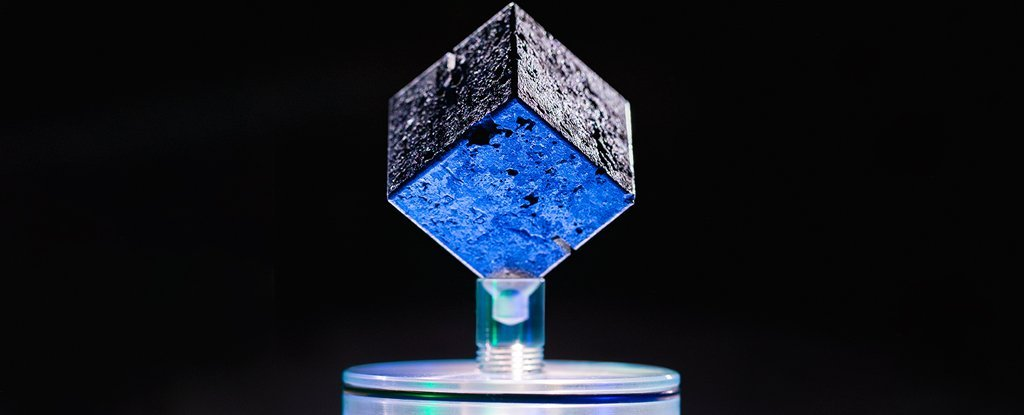 One of the 'Heisenberg cubes'.