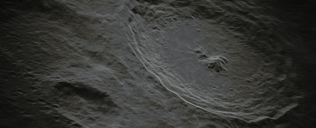 The Tycho Crater.