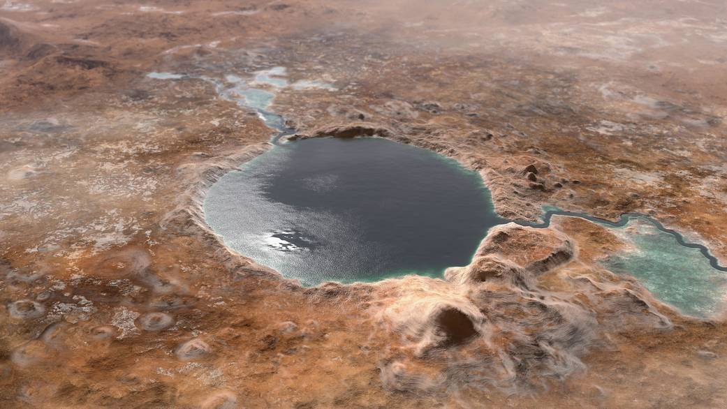 NASA confirms what they suspected about Jezero crater on Mars