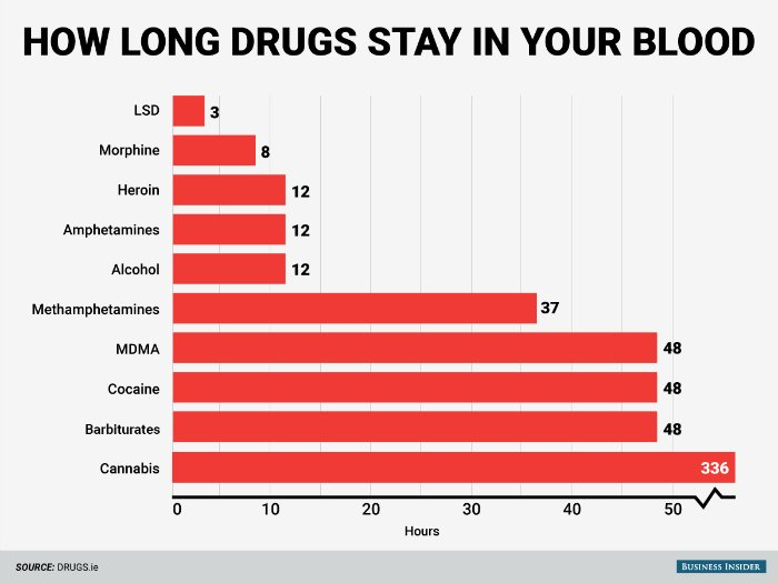 Here's How Long Common Drugs Stay in Your Body