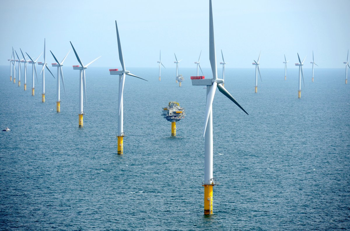 America S First Offshore Wind Farm Has Turbines Twice As