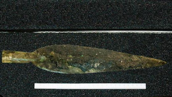 GUARD gold spearhead
