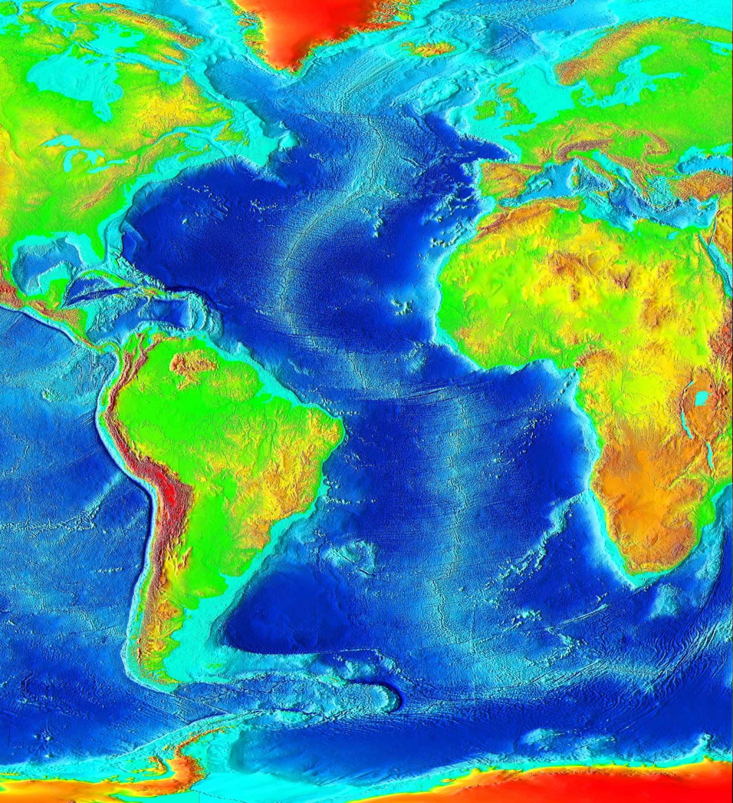We've Mapped The Entire Ocean Floor