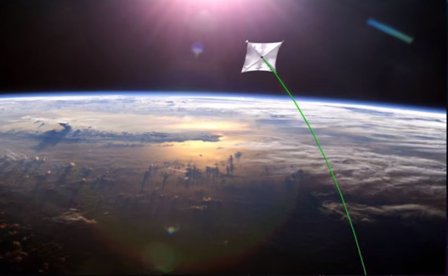 NASA researchers are working on a laser propulsion system that could get to Mars in 3 days