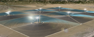 China is building its first large-scale solar plant in the Gobi Desert