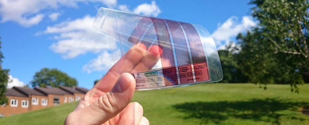 This Nanometre Thick Graphene Film Is The Most Light