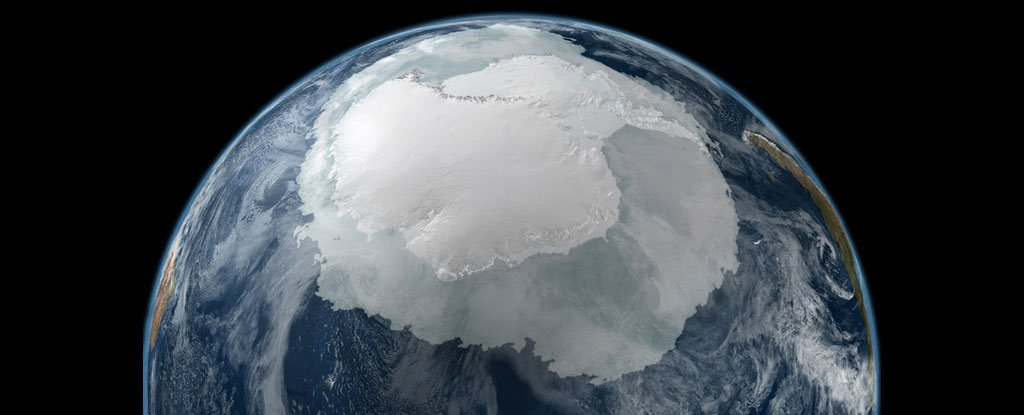 As Sea Ice Around Antarctica Melts, The Southern Ocean Is Becoming Fresher