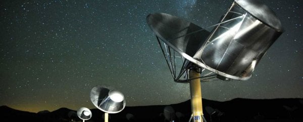 Astronomers have detected a mysterious radio signal coming from a Sun-like star