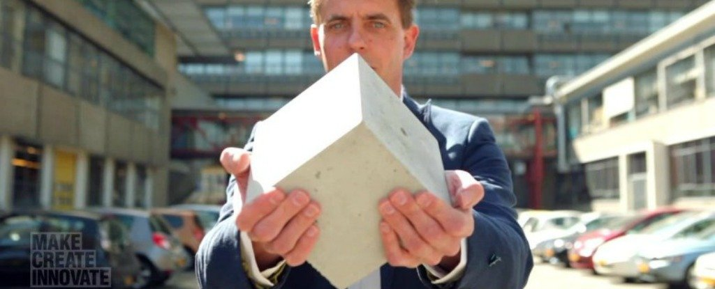 Scientists Have Created Living Concrete That Repairs Itself