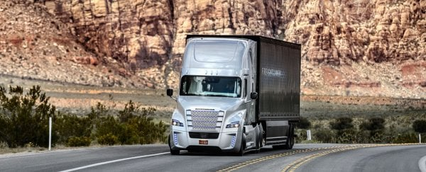 Jobs In Trucks >> Self Driving Trucks Could Cost As Many As 7 Million Jobs In The Us Alone