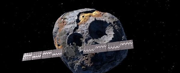 NASA just fast-tracked its mission to explore a $10,000 quadrillion metal asteroid