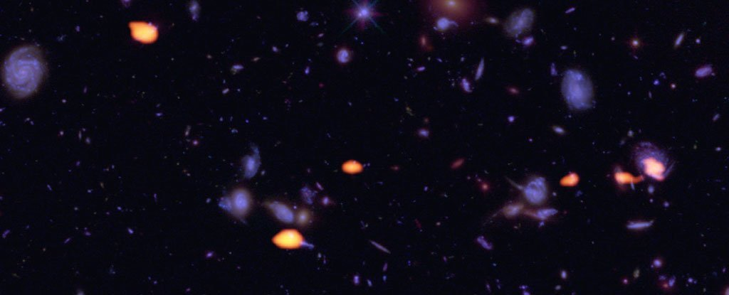 Astronomers Just Spotted Deep-Space Galaxies That Are Like Nothing We've Seen Before